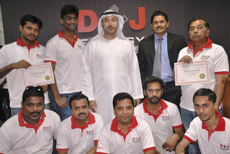 AWARDS FELICITATION FOR DNJ ENERGY EMPLOYEES